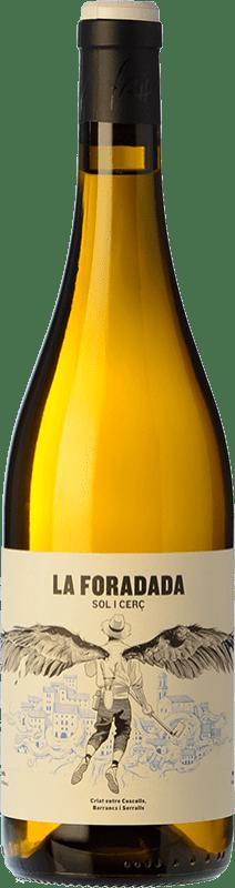 17,95 € Envío gratis | Vino blanco Frisach La Foradada D.O. Terra Alta Cataluña España Garnacha Blanca Botella 75 cl