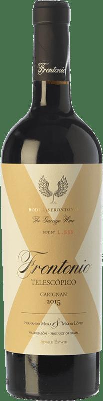 19,95 € 免费送货 | 红酒 Frontonio Telescópico Carignan Crianza I.G.P. Vino de la Tierra de Valdejalón 阿拉贡 西班牙 Carignan 瓶子 75 cl