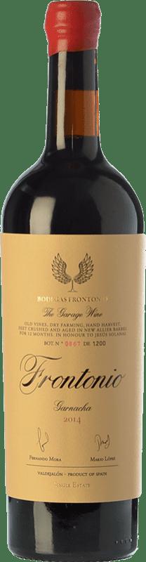 33,95 € Envío gratis | Vino tinto Frontonio Crianza I.G.P. Vino de la Tierra de Valdejalón Aragón España Garnacha Botella 75 cl