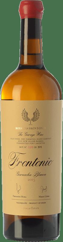 33,95 € Envío gratis | Vino blanco Frontonio Crianza I.G.P. Vino de la Tierra de Valdejalón Aragón España Garnacha Blanca Botella 75 cl
