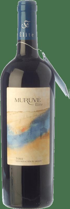 27,95 € 免费送货 | 红酒 Frutos Villar Muruve Élite Crianza D.O. Toro 卡斯蒂利亚莱昂 西班牙 Tinta de Toro 瓶子 75 cl