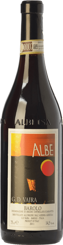 39,95 € Free Shipping | Red wine G.D. Vajra Albe D.O.C.G. Barolo Piemonte Italy Nebbiolo Bottle 75 cl
