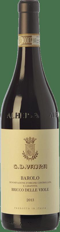 111,95 € Free Shipping | Red wine G.D. Vajra Bricco delle Viole D.O.C.G. Barolo Piemonte Italy Nebbiolo Bottle 75 cl