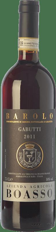 49,95 € | Red wine Gabutti-Boasso Barolo Gabutti D.O.C.G. Barolo Piemonte Italy Nebbiolo Bottle 75 cl