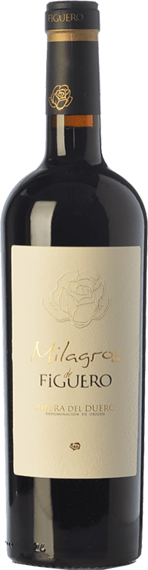 41,95 € | Red wine Figuero Milagros Crianza D.O. Ribera del Duero Castilla y León Spain Tempranillo Bottle 75 cl