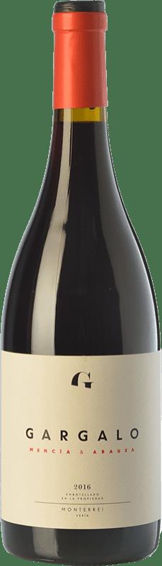 14,95 € Free Shipping | Red wine Gargalo Mencía Joven D.O. Monterrei Galicia Spain Tempranillo, Mencía Bottle 75 cl