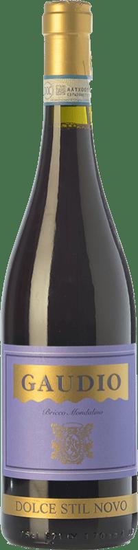 11,95 € Free Shipping | Red wine Gaudio Dolce Stil Novo D.O.C. Malvasia di Casorzo d'Asti Piemonte Italy Malvasia di Casorzo Bottle 75 cl
