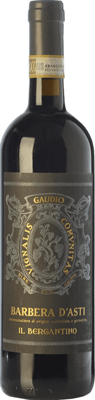 22,95 € Envoi gratuit   Vin rouge Gaudio il Bergantino D.O.C. Barbera d'Asti Piémont Italie Barbera Bouteille 75 cl