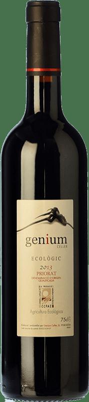 21,95 € | Red wine Genium Ecològic Joven D.O.Ca. Priorat Catalonia Spain Merlot, Syrah, Grenache, Carignan Bottle 75 cl