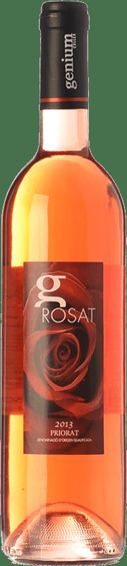 9,95 € | Rosé wine Genium Rosat Joven D.O.Ca. Priorat Catalonia Spain Merlot Bottle 75 cl