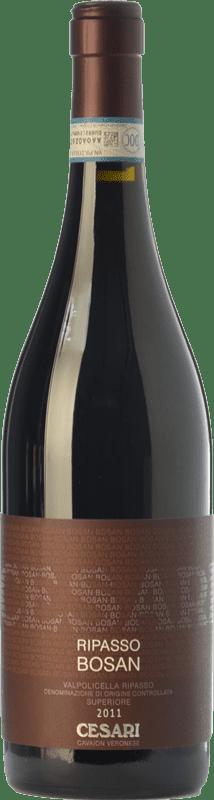 27,95 € Free Shipping | Red wine Cesari Superiore Bosan D.O.C. Valpolicella Ripasso Veneto Italy Corvina, Rondinella Bottle 75 cl