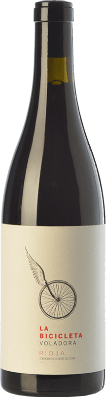 9,95 € Free Shipping | Red wine Germán R. Blanco La Bicicleta Voladora Joven D.O.Ca. Rioja The Rioja Spain Tempranillo, Viura Bottle 75 cl