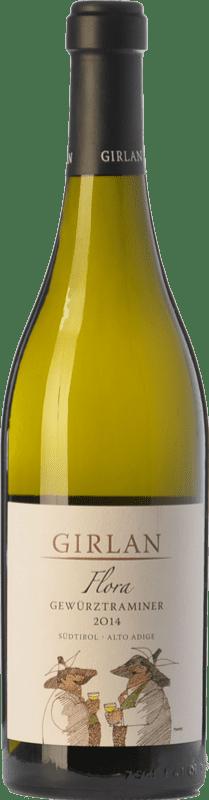 19,95 € 免费送货 | 白酒 Girlan Flora D.O.C. Alto Adige 特伦蒂诺 - 上阿迪杰 意大利 Gewürztraminer 瓶子 75 cl