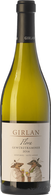 19,95 € Envoi gratuit | Vin blanc Girlan Flora D.O.C. Alto Adige Trentin-Haut-Adige Italie Gewürztraminer Bouteille 75 cl