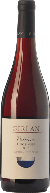 18,95 € Free Shipping | Red wine Girlan Pinot Nero Patricia D.O.C. Alto Adige Trentino-Alto Adige Italy Pinot Black Bottle 75 cl
