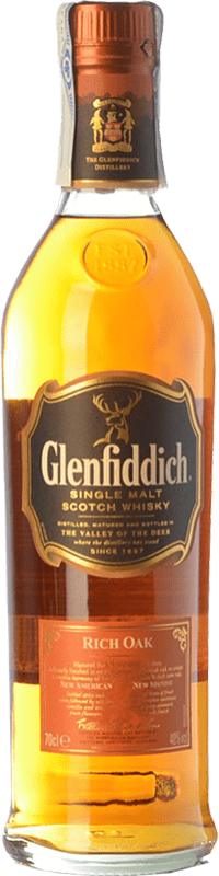 49,95 € | Whisky Single Malt Glenfiddich Rich Oak 14 Speyside United Kingdom Bottle 70 cl