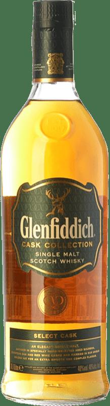 56,95 € Free Shipping | Whisky Single Malt Glenfiddich Select Cask Speyside United Kingdom Missile Bottle 1 L