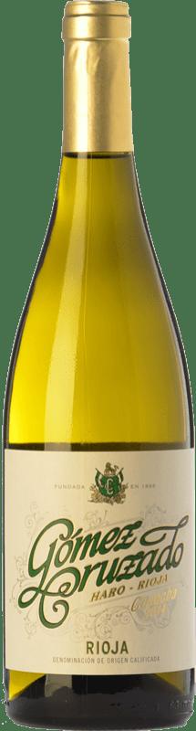 9,95 € 免费送货 | 白酒 Gómez Cruzado Crianza D.O.Ca. Rioja 拉里奥哈 西班牙 Viura, Tempranillo White 瓶子 75 cl