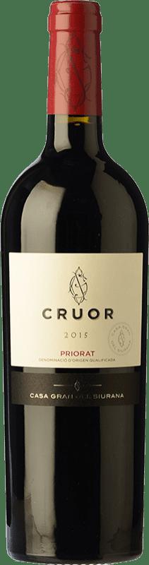 25,95 € Free Shipping | Red wine Gran del Siurana Cruor Crianza D.O.Ca. Priorat Catalonia Spain Syrah, Grenache, Cabernet Sauvignon, Carignan Bottle 75 cl