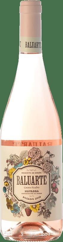 7,95 € 免费送货 | 玫瑰酒 Gran Feudo Baluarte D.O. Navarra 纳瓦拉 西班牙 Grenache 瓶子 75 cl
