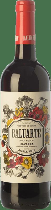 4,95 € Envoi gratuit | Vin rouge Gran Feudo Baluarte Roble D.O. Navarra Navarre Espagne Tempranillo Bouteille 75 cl