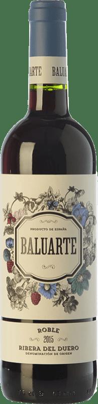9,95 € Envoi gratuit | Vin rouge Gran Feudo Baluarte Roble D.O. Ribera del Duero Castille et Leon Espagne Tempranillo Bouteille 75 cl