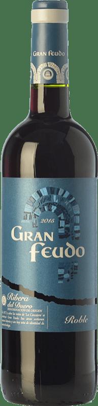 9,95 € Free Shipping | Red wine Gran Feudo Joven D.O. Ribera del Duero Castilla y León Spain Tempranillo Bottle 75 cl