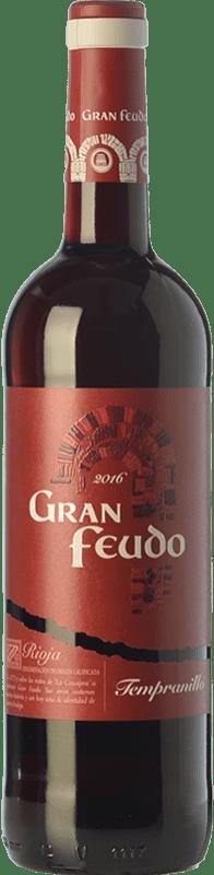 6,95 € Envío gratis   Vino tinto Gran Feudo Joven D.O.Ca. Rioja La Rioja España Tempranillo Botella 75 cl