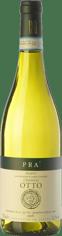 13,95 € Free Shipping | White wine Graziano Prà Prà Otto D.O.C.G. Soave Classico Veneto Italy Garganega Bottle 75 cl
