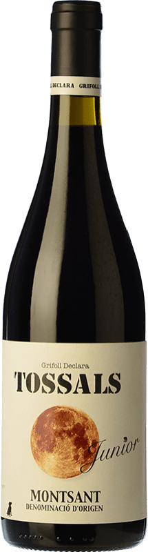 9,95 € Free Shipping | Red wine Grifoll Declara Tossals Junior Joven D.O. Montsant Catalonia Spain Grenache, Cabernet Sauvignon, Carignan Bottle 75 cl