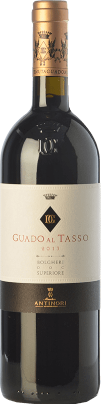 142,95 € | Red wine Guado al Tasso D.O.C. Bolgheri Tuscany Italy Merlot, Syrah, Cabernet Sauvignon Bottle 75 cl