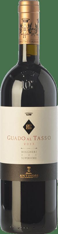 142,95 € Envoi gratuit | Vin rouge Guado al Tasso D.O.C. Bolgheri Toscane Italie Merlot, Syrah, Cabernet Sauvignon Bouteille 75 cl