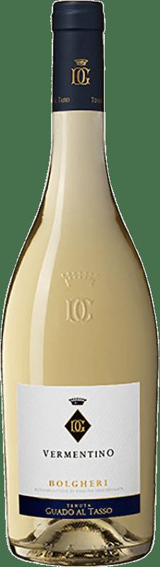 17,95 € Envío gratis   Vino blanco Guado al Tasso D.O.C. Bolgheri Toscana Italia Vermentino Botella 75 cl