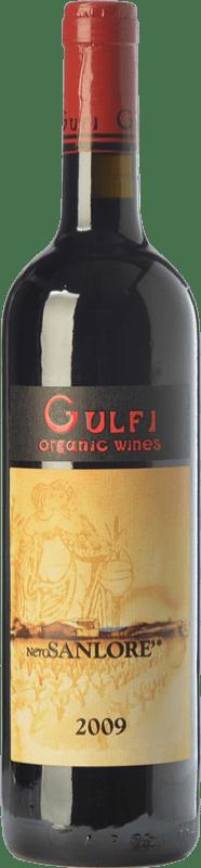 45,95 € Free Shipping | Red wine Gulfi Nero Sanloré I.G.T. Terre Siciliane Sicily Italy Nero d'Avola Bottle 75 cl