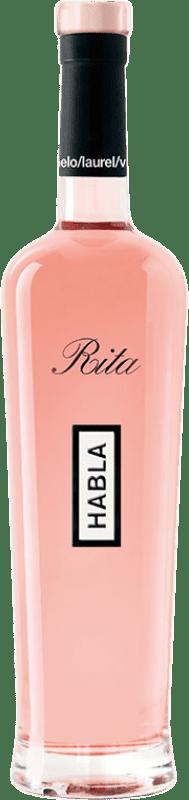22,95 € Envío gratis | Vino rosado Habla de Rita A.O.C. Côtes de Provence Provence Francia Syrah, Garnacha Botella 75 cl