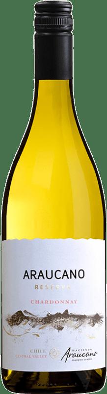 14,95 € Free Shipping | White wine Araucano Reserva I.G. Valle de Colchagua Colchagua Valley Chile Chardonnay Bottle 75 cl