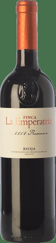 29,95 € Envío gratis | Vino tinto Hernáiz La Emperatriz Reserva D.O.Ca. Rioja La Rioja España Tempranillo, Garnacha, Graciano, Viura Botella Mágnum 1,5 L