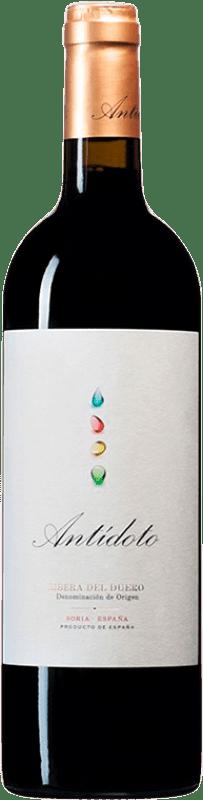 18,95 € Envío gratis | Vino tinto Hernando & Sourdais Antídoto Crianza D.O. Ribera del Duero Castilla y León España Tempranillo Botella 75 cl