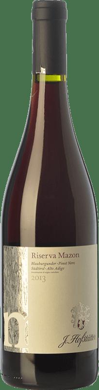 29,95 € | Red wine Hofstätter Pinot Nero Mazon D.O.C. Alto Adige Trentino-Alto Adige Italy Pinot Black Bottle 75 cl