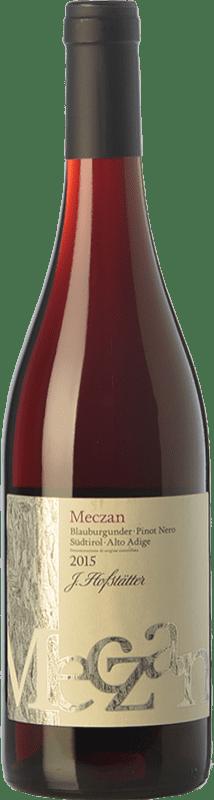 16,95 € | Red wine Hofstätter Pinot Nero Meczan D.O.C. Alto Adige Trentino-Alto Adige Italy Pinot Black Bottle 75 cl