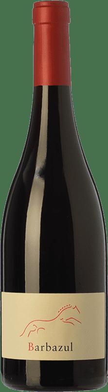 8,95 € 免费送货 | 红酒 Huerta de Albalá Barbazul Roble I.G.P. Vino de la Tierra de Cádiz 安达卢西亚 西班牙 Merlot, Syrah, Cabernet Sauvignon, Tintilla 瓶子 75 cl