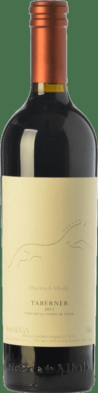 21,95 € Free Shipping | Red wine Huerta de Albalá Taberner Crianza I.G.P. Vino de la Tierra de Cádiz Andalusia Spain Merlot, Syrah, Cabernet Sauvignon Bottle 75 cl