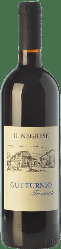 8,95 € Envío gratis | Espumoso tinto Il Negrese Frizzante D.O.C. Gutturnio Emilia-Romagna Italia Barbera, Croatina Botella 75 cl