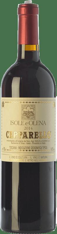 79,95 € | Red wine Isole e Olena Cepparello I.G.T. Toscana Tuscany Italy Sangiovese Bottle 75 cl