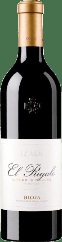 Rotwein Izadi El Regalo Crianza D.O.Ca. Rioja La Rioja Spanien Tempranillo Flasche 75 cl