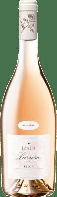 6,95 € Spedizione Gratuita | Vino rosato Izadi Larrosa D.O.Ca. Rioja La Rioja Spagna Grenache Bottiglia 75 cl