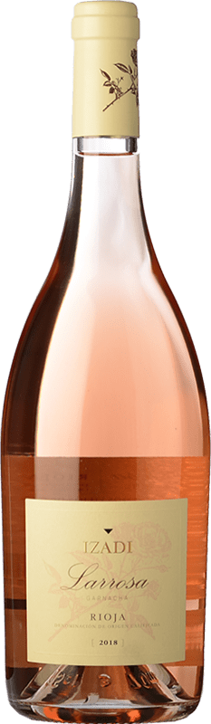 Free Shipping | Rosé wine Izadi Larrosa 2017 D.O.Ca. Rioja The Rioja Spain Grenache Bottle 75 cl