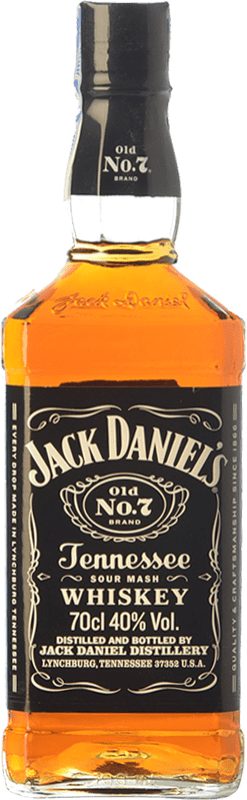 21,95 € | Bourbon Jack Daniel's No. 7 Tennessee United States Bottle 70 cl
