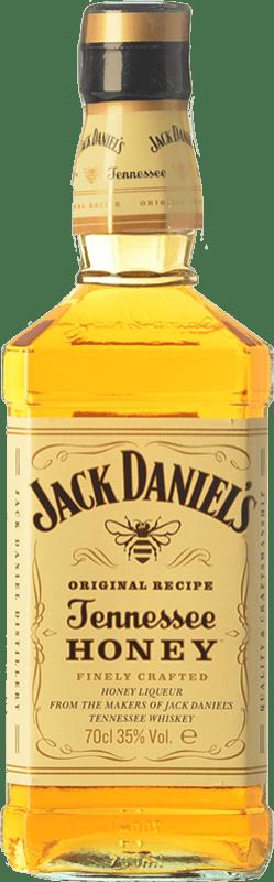 22,95 € 免费送货   波旁酒 Jack Daniel's Tennesse Honey 田纳西 美国 瓶子 70 cl