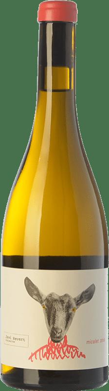 19,95 € Envío gratis | Vino blanco Javi Revert Micalet Crianza D.O. Valencia Comunidad Valenciana España Malvasía, Merseguera, Trapadell, Tortosí Botella 75 cl
